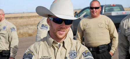 Kansas Game Wardens Recognized for Exemplary Efforts