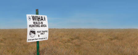 NEW LEASE RATES AVAILABLE FOR WALK-IN HUNTING ACCESS LAND