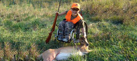 Register For Youth Or Disabled Hunter Deer Hunt At Tuttle Creek