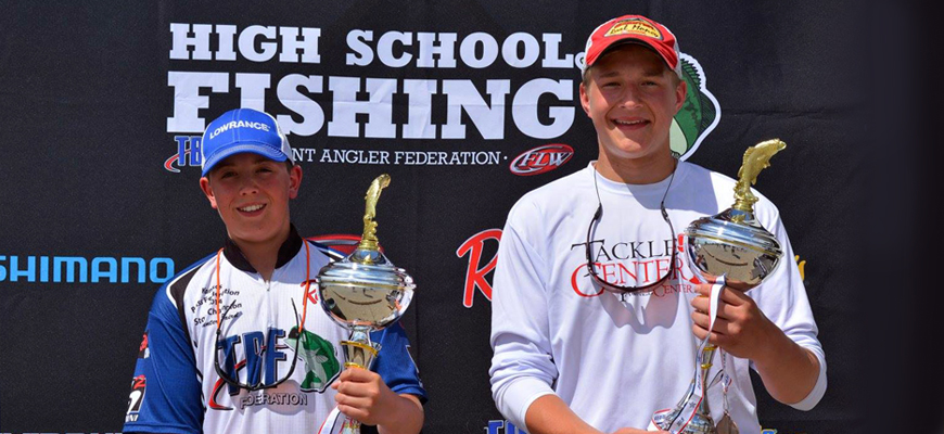 Two Salina High School Students Win State Fishing Championship
