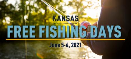 Take Part in Kansas Free Fishing Days on June 5 and 6