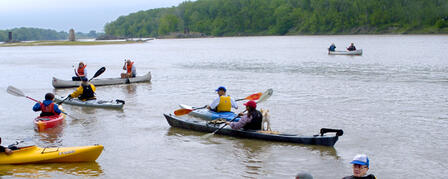 CANOE RACE TO LINK K-STATE, KU ON KAW JULY 22