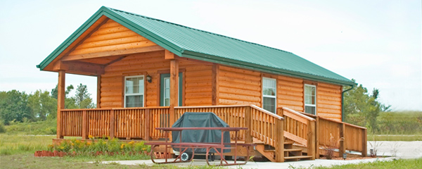 STATE PARK CABINS OFFER GREAT INDOOR AND OUTDOOR FUN