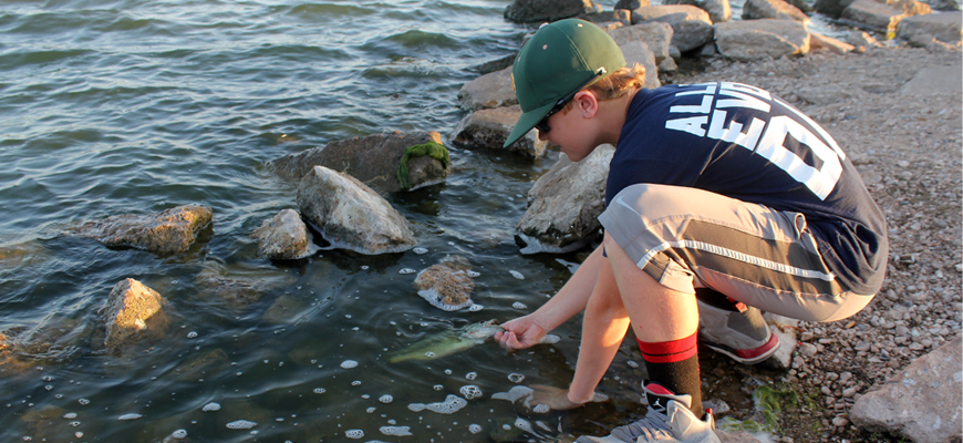Fishing's Future Announces Catch-Photo-Release Contest for Youth Anglers