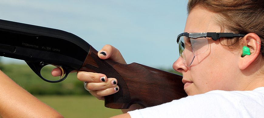 Learn To Shoot At Gals-Only Event