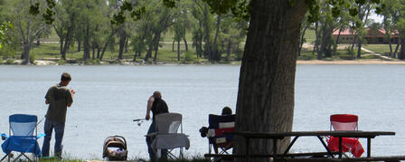 MEADE STATE FISHING LAKE OPEN FOR ALL ACTIVITIES