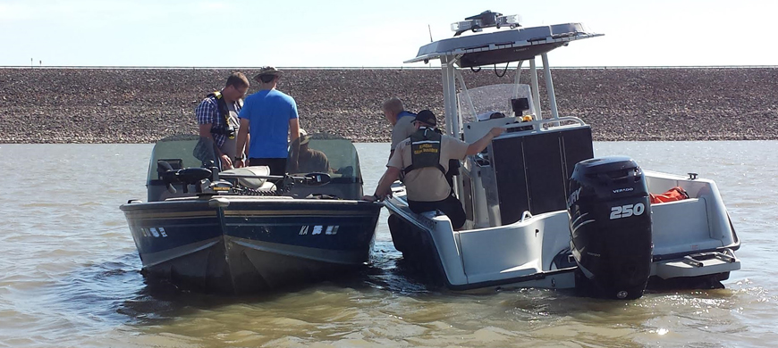 Kansas game wardens address boating under the influence for Kansas fish and game