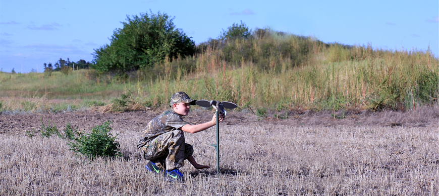 Youth Invited to Hunt Doves At Glen Elder Wildlife Area