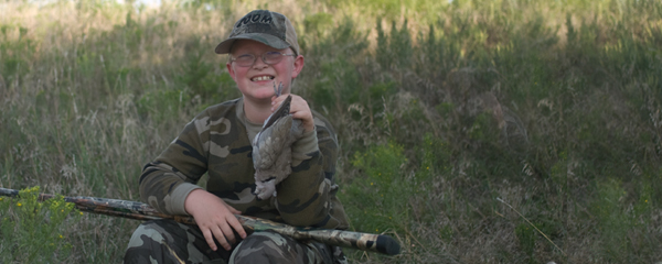 YOUTH/NOVICE DOVE HUNTING OPPORTUNITY AT BRZON WILDLIFE AREA