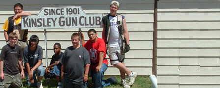 19th ANNUAL KINSLEY GUN CLUB KIDS KLASSIC SEPT. 17
