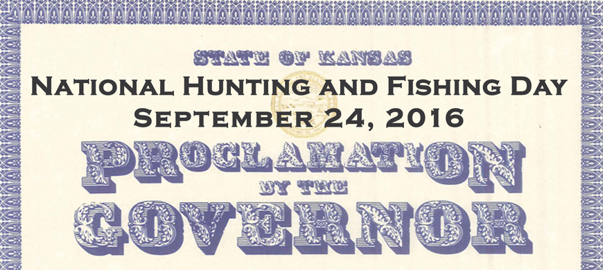 National Hunting and Fishing Day Celebrates Hunters and Anglers