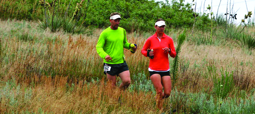 Trail Run at Wilson's Switchgrass Trail Oct. 2