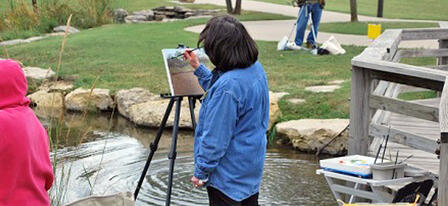 "Artists Invited to Paint ""On the Trail"" at Great Plains Nature Center"