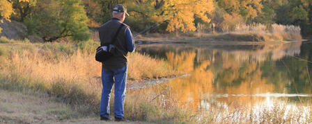AS FALL TEMPERATURES COOL, FISHING HEATS UP