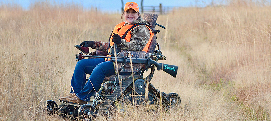 Track Chair Program Designed For Outdoorsmen With Disabilities In-mind