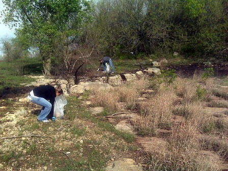 El Dorado State Park - Earth Day clean-up 2010