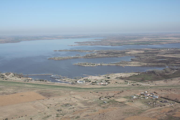 Aerial Photo-Cheney Lake