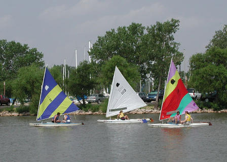 Hobie Cats at Cheney