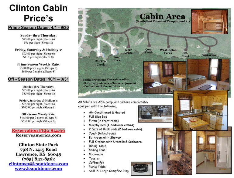 Cabin Prices, Pictures & Locations