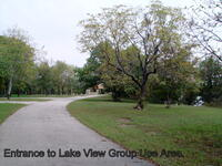 Entrance to Lake View Group Use Area