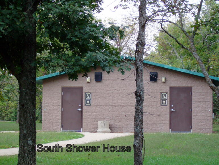South Restroom/Shower House