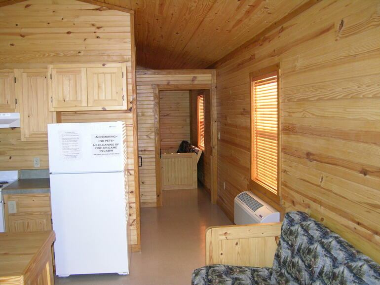 View of inside Modern Cabins