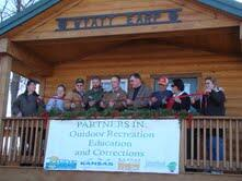 Kanopolis Cabin Ribbon Cutting
