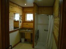 Kanopolis cabin shower