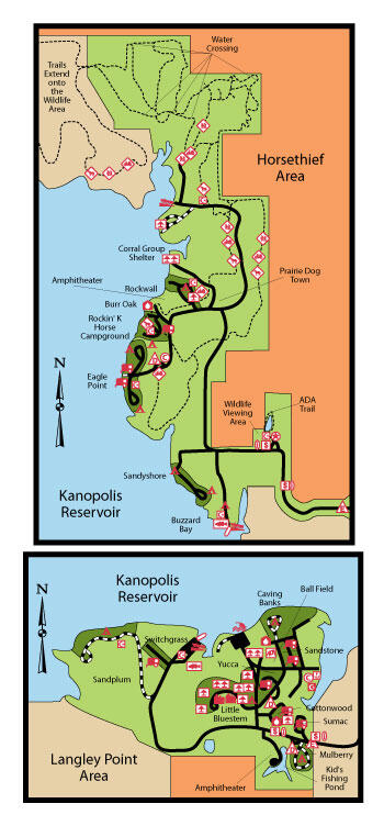 Kanopolis Camp Map