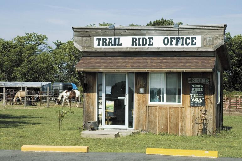 Kanopolis Trail Ride Office
