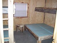 Cabin Interior Bedroom