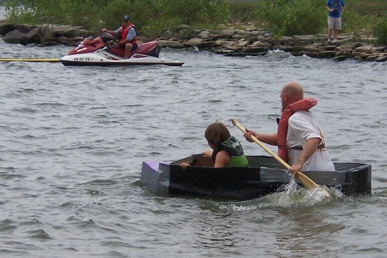 Cardboard Boat Contest 2007