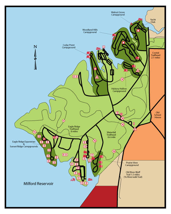 Milford Camp Map
