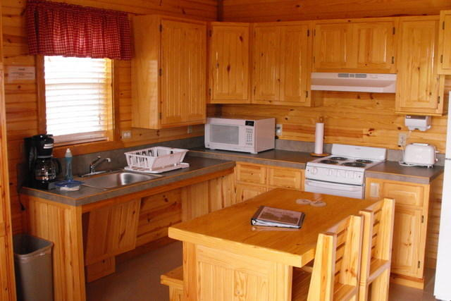 Cabins Kitchen Interior