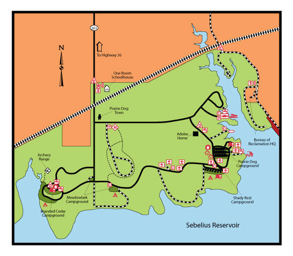 Prairie Dog Camp Map