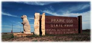 Prairie Dog Entrance Sign