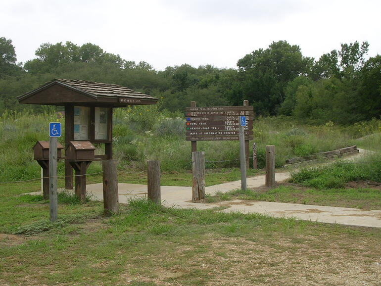Trailhead at Sand Hills