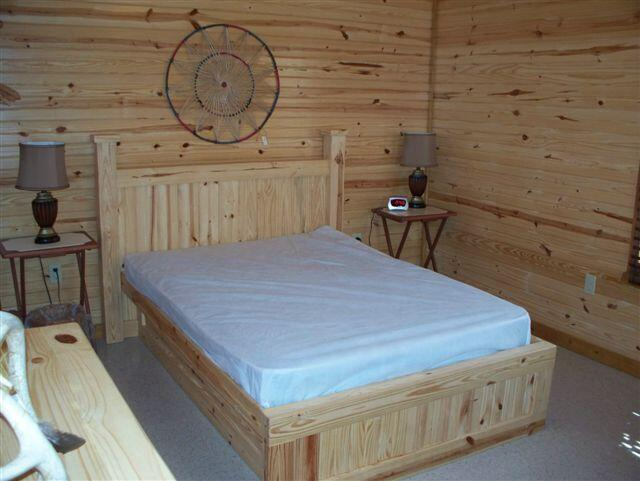 Navajo Cabin Bedroom