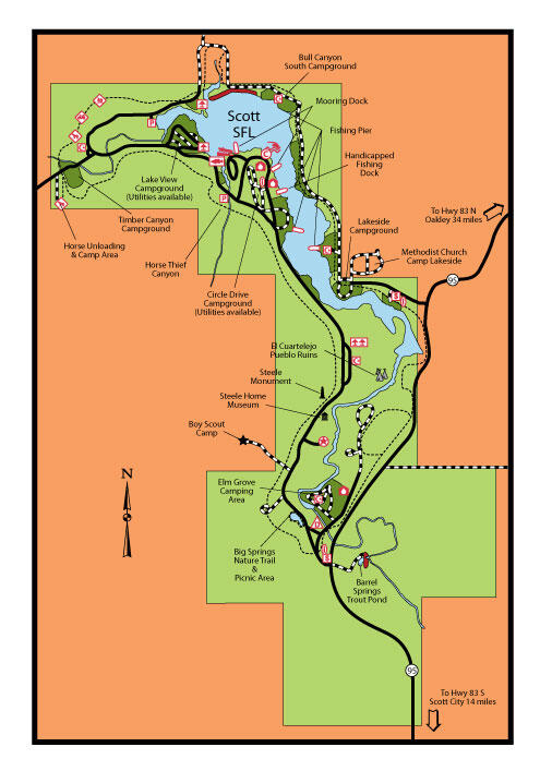 Scott Camp Map