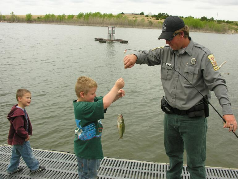 2010 OK Kids Day Fishing