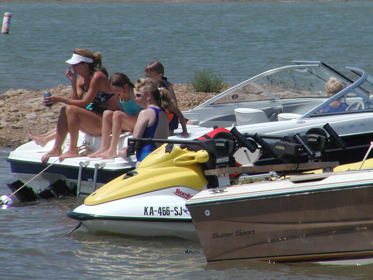Wilson Lake Area Association Poker Run Participants