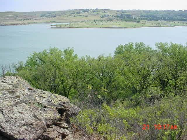 Wilson Lake Dakota Trail View