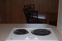 Wilson Lake Foxtail Cabin  Electric Cooktop