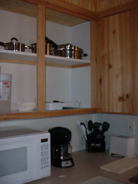 Wilson Lake Foxtail Cabin Kitchen Cabinets