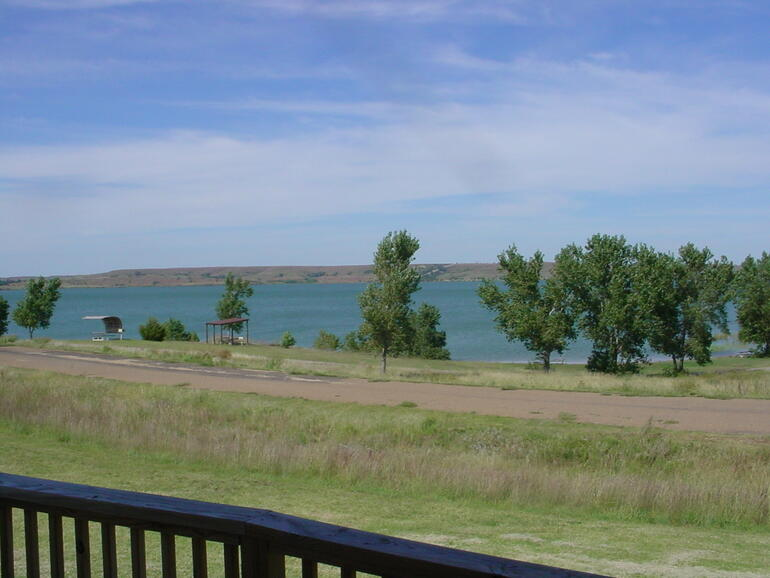 Wilson Lake Foxtail Cabin View