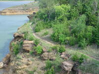 Wilson Lake Mountain Bike Trail (Hell Creek Area)