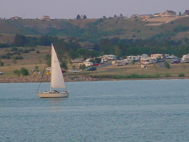 Wilson Lake Sailboat