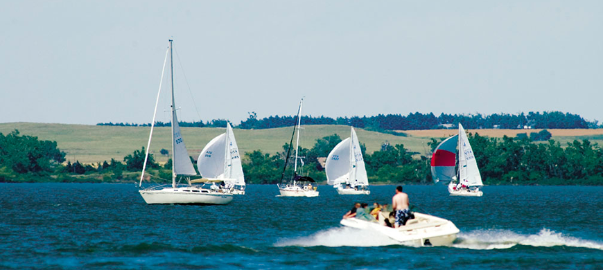 Cheney State Park Boaters