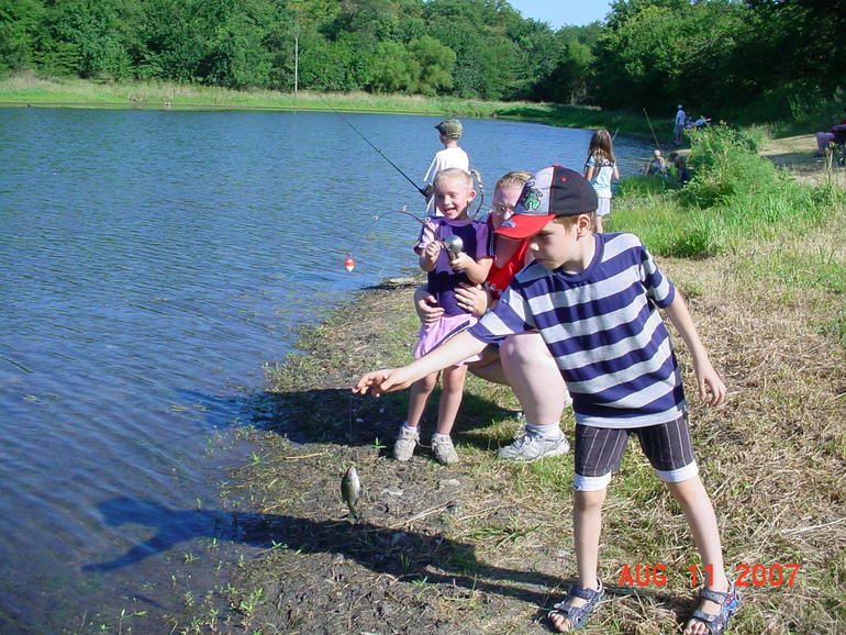 More kids fishing pictures