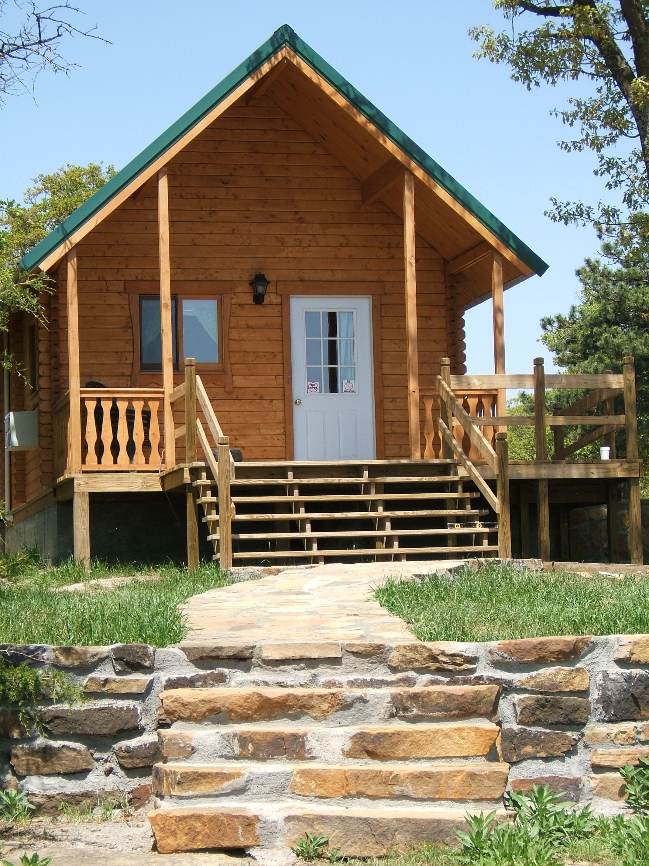 in kansas park accommodations cabin fall atwood pic ohio lake rentals cabins
